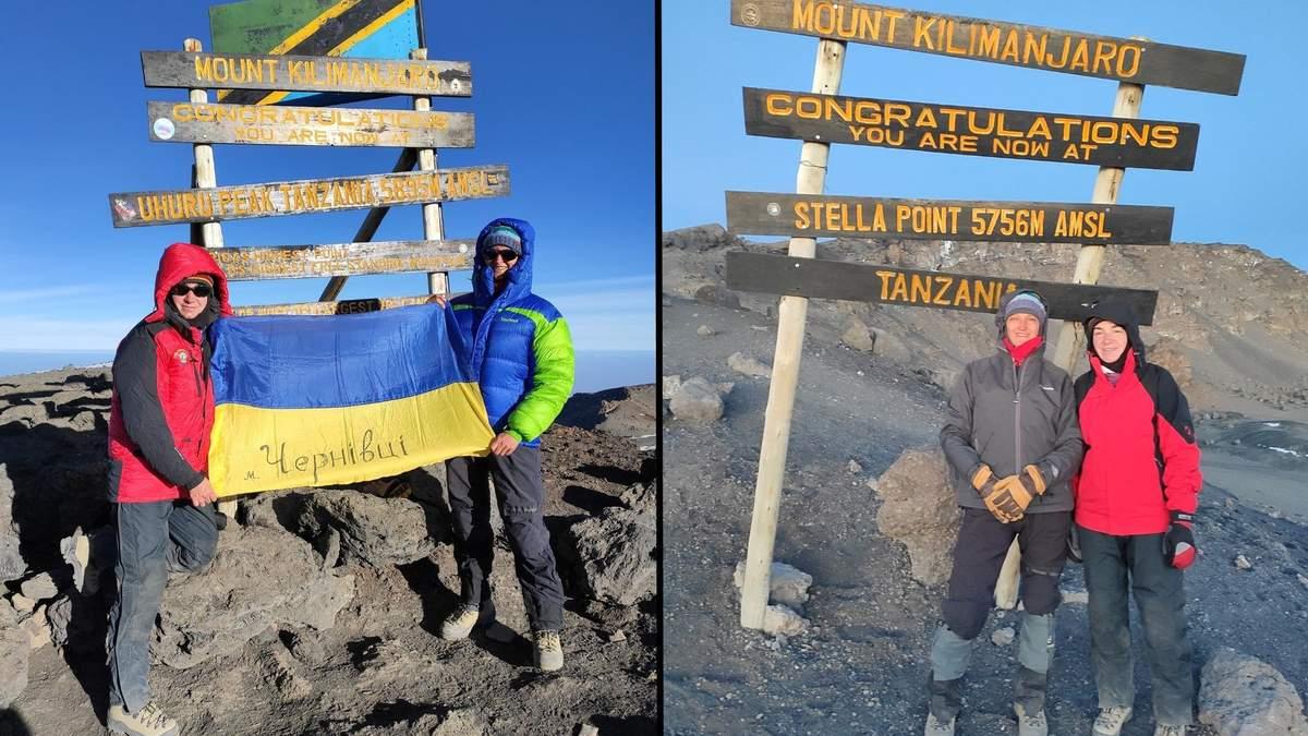 Двоє викладачок з Чернівців підкорили Кіліманджаро:  деталі та неймовірні фото - Україна новини - Освіта