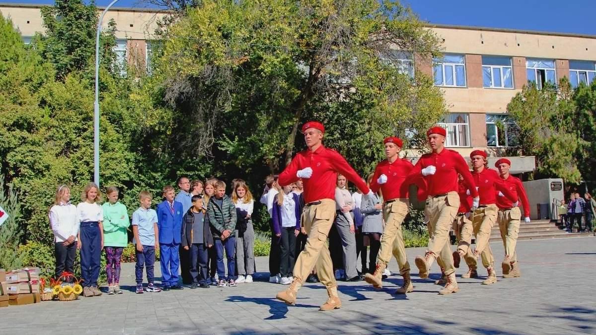 Мілітаризація освіти: у Севастополі учнів змушують присягати росгвардії - новини Криму - Освіта