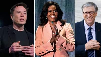 Ілон Маск, Мішель Обама та Білл Гейтс розповіли про своїх педагогів