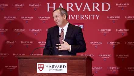 Президент Гарвардського університету та його дружина захворіли на коронавірус