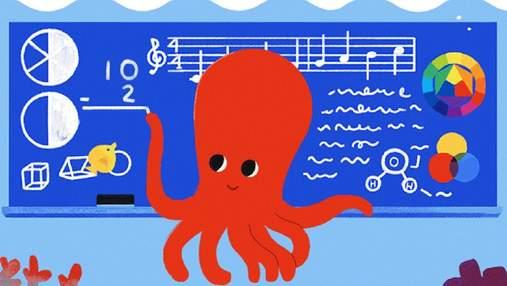 Google створив дудл до Всесвітнього дня вчителя