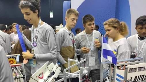 Команда українських школярів потрапила до ТОП-10 всесвітньої олімпіади з робототехніки