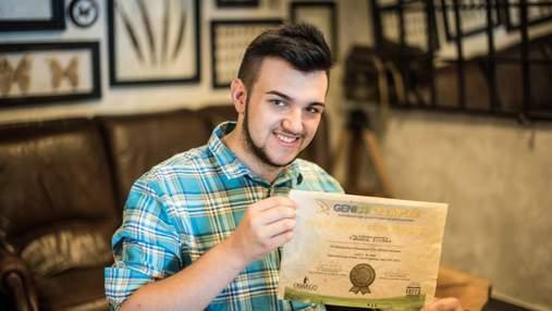 Папір з листя: студент КНУ прославився на міжнародному конкурсі