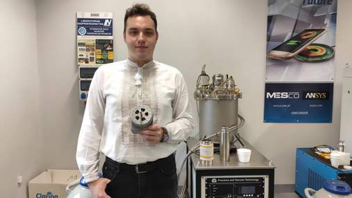 Студент з Івано-Франківська створив електродвигун на 3D-принтері