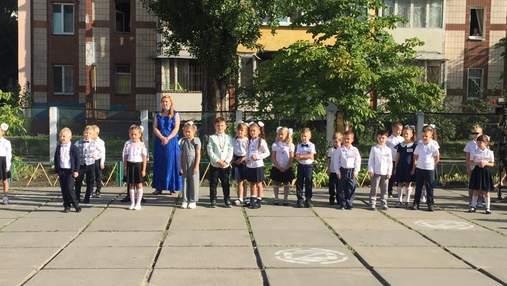 1 сентября в школах Украины: яркие фото учеников с начала учебного года