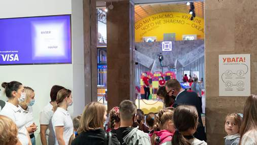 Первый в Украине: в Киеве заработал интерактивный музей науки