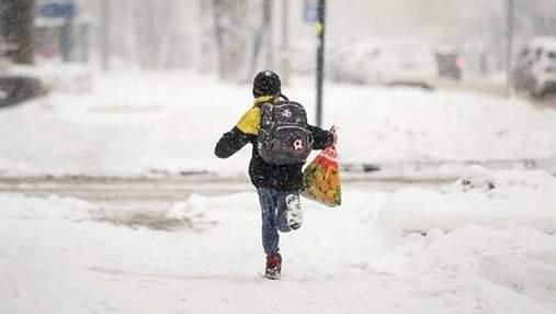 Как будут работать школы и садики во Львове в непогоду до конца недели
