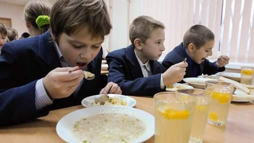 Уряд затвердив нові норми харчування у школах, садочках та закладах оздоровлення