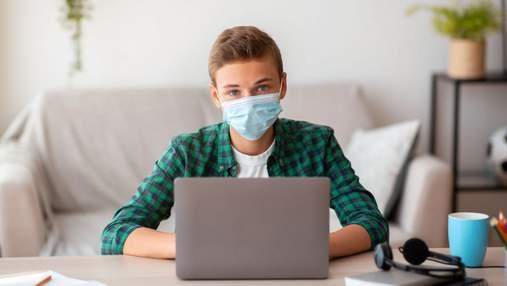 Благодаря онлайн-обучению в Киеве количество больных учеников и учителей на COVID-19 уменьшилось
