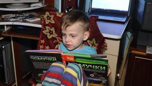 5-летний мальчик из Прикарпатья выучил таблицу Менделеева, латинский и греческий алфавиты