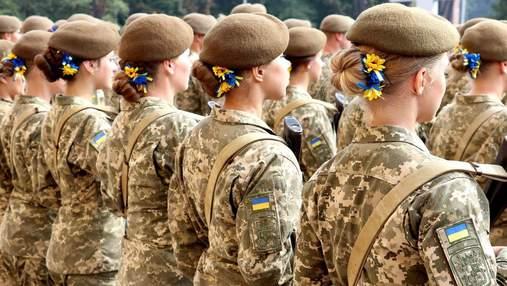 Сколько девушек поступили в военные вузы и колледжи в 2021 году: данные Минобороны