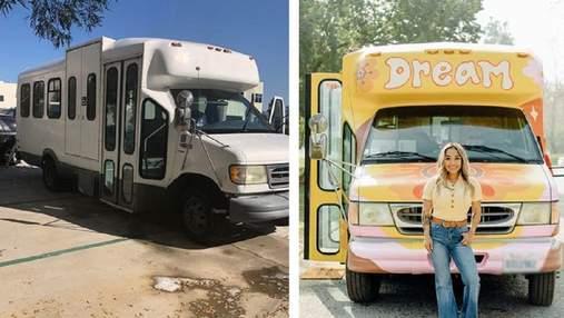 Вихователька перетворила старий автобус на шкільний клас: неймовірні фото