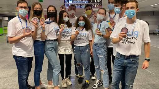 Українські школярі взяли участь у виставці Global Industrie у Франції: здобули 11 нагород