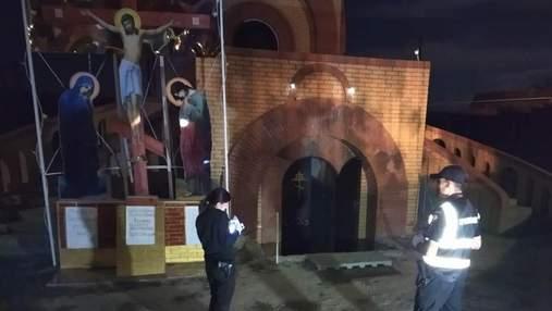 Школяр підпалив храм Московського патріархату на Одещині: хотів помститися