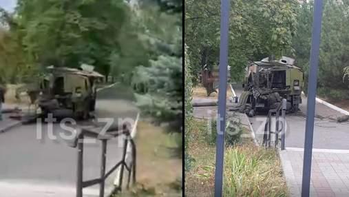 В Запорожье на территории медицинского университета произошел взрыв