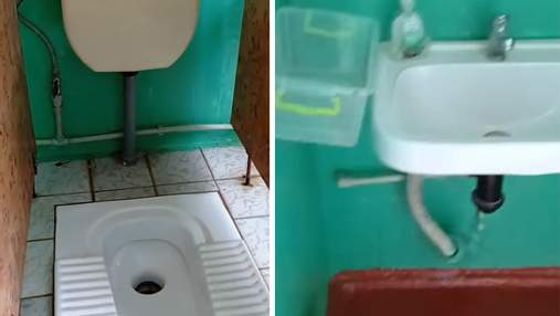 Нет бумаги и дверей: в Днепре возмущенные родители показали условия в школьном туалете – видео