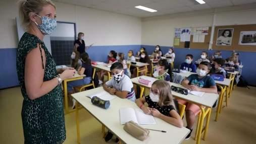 Учні не йтимуть на самоізоляцію через хворих на COVID-19: у Франції проведуть експеримент