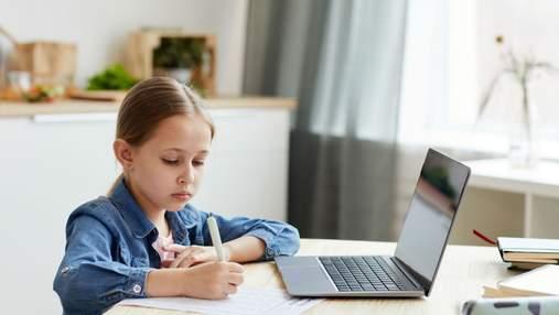 Кожна дев'ята школа в Україні використовує дистанційне навчання