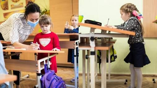 Эксперимент от IT-компании: в школах Львова появились необычные парты