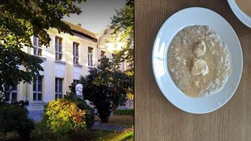 """""""Помои"""": отец ученика показал фото ужасных блюд из школьной столовой на Закарпатье"""