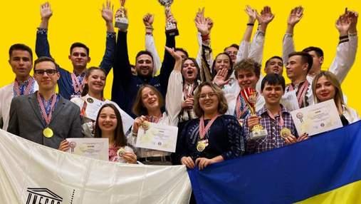 Украинские школьники и студенты получили 20 наград на Международном шоу INOVA 2021