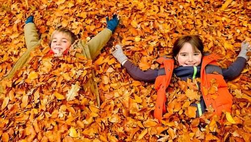 Что делать на осенних каникулах: интересные идеи, которые поразят детей